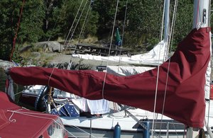Sunwind 29 main sail cover