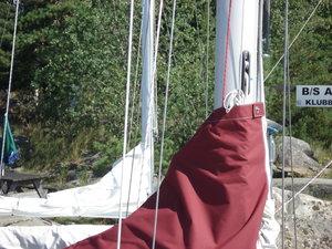 Albin 78 Cirrus segelkapell Extra stort,