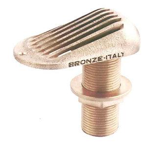 Däcksgenomföring med sil 1½ tum, Bordsgenomföring med sil brons CR