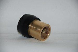 Gummilager med midja 25 - 30mm