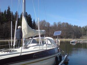 Main sail cover Maxi 108