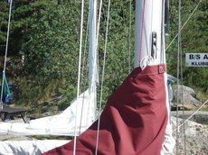 8602 Comfort 30 mainsail cover
