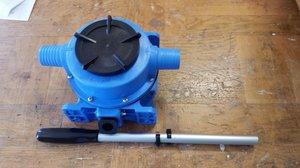 Enkelverkan manuell pump