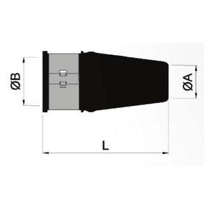 Gummipackbox 40X60 mm